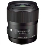 Sigma 35mm F1.4 DG HSM Art Lens for Sony