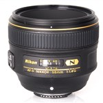 Nikon AF-S NIKKOR 58mm f/1.4G Lens International Warranty