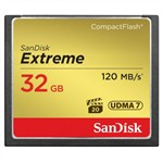 SanDisk 32GB Extreme 120MB/s CF Card CompactFlash
