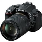 Nikon D5300 Digital SLR Camera with 18-140mm VR Lens Black