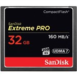 SanDisk 32GB Extreme Pro 160MB/s CF Card CompactFlash