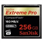 SanDisk 256GB Extreme Pro 160MB/s CF Card CompactFlash