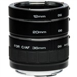Kenko DG Extension Tube Set for Sony E-mount Camera Lens