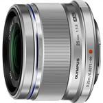 Olympus M.ZUIKO DIGITAL 25mm F1.8 (Silver) Micro Four Thirds Lens