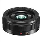 Panasonic LUMIX G 20mm F1.7 II ASPH Black Camera Lens