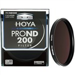Hoya Pro ND200 49mm Filter 7 2/3 F Stop Light Reduction