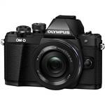 Olympus OM-D E-M10 II Camera BLACK with 14-42mm EZ Single Lens Kit