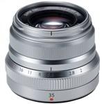 Fujifilm XF 35mm f/2 R WR Lens (Silver) Fujinon