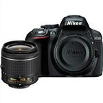Nikon D5300 Digital SLR Camera with AF-P 18-55mm VR Lens Black