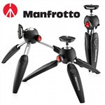 Manfrotto PIXI EVO 2 SECTION MINI TRIPOD (BLACK)