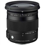 Sigma 17-70mm f/2.8-4 DC Macro OS HSM C Contemporary Lens Canon M...