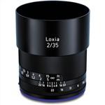 Zeiss Loxia 35mm f/2 Biogon T* Lens Sony E Mount (Full Frame)