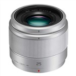 Panasonic Lumix G 25mm f-1.7 Asph (Silver)