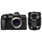 Olympus OM-D E-M1 Mark II Camera with 12-40mm f/2.8 (Black) Lens ...