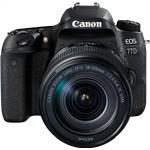 Canon EOS 77D with 18-135mm IS USM Lens Kit DSLR Camera Digital SLR