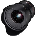 Samyang 20mm T1.9 ED AS UMC Cine Lens Nikon  Mount