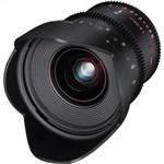 Samyang 20mm T1.9 ED AS UMC Cine Lens Sony E Mount