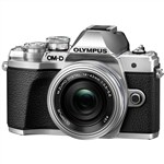Olympus OM-D E-M10 III Camera SILVER with 14-42mm EZ Single Lens ...