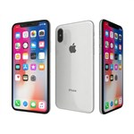 Apple iPhone X (64GB, SILVER) UNLOCKED