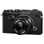 OLYMPUS PEN-F with 12mm f/2.0 Lens Kit Black Mirrorless Camera