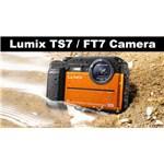 Panasonic DC-FT7 Orange Tough Camera DMC FT7